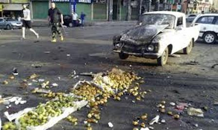 38 killed in suicide bombings in Syria