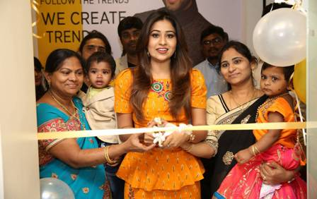 "Actress Manali Rathod Launches ""BE YOU"" Family Salon and Bridal"