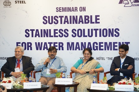 Adoption of stainless steel to ensure sustainable water managem