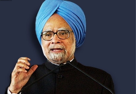 "BJP-led central government had ""miserably"" failed: Manmohan Sin"