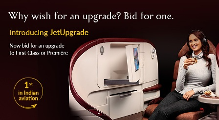 Bid Your Way To A Superior Flying Experience With 'Jet Upgrade'