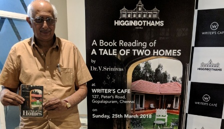 Book Reading Session of 'A Tale of Two Homes'