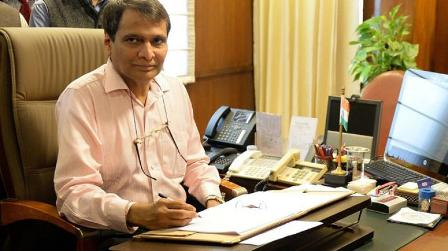 Economic growth may cross 8% in next 2 yrs: Suresh Prabhu