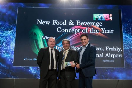 Frshly & ID @ Chennai International Airport won Global Awards