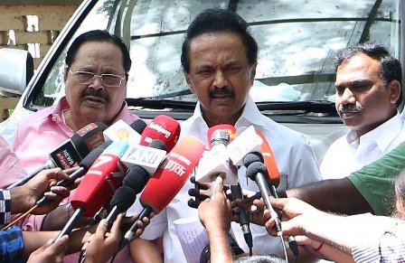 M.K. Stalin Takes Charge as DMK President