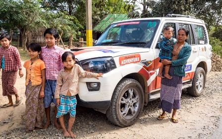Mahindra Adventure's first ever India-Myanmar-Thailand Expediti