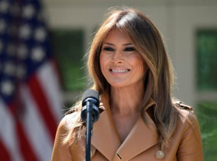 Melania Trump hospitalised