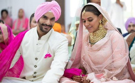 Neha Dhupia marries actor Angad Bedi