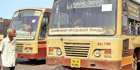 Normal life unaffected due to Bharath Bandh in Tamil Nadu