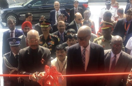 President of India and PM of Swaziland unveil Royal Science and