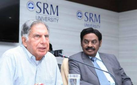SRM INSTITUTE OF SCIENCE AND TECHNOLOGY AWARDED HIGHEST GRADE O