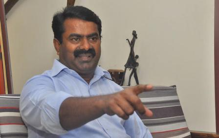 Seeman Slams Actor Rajinikanth