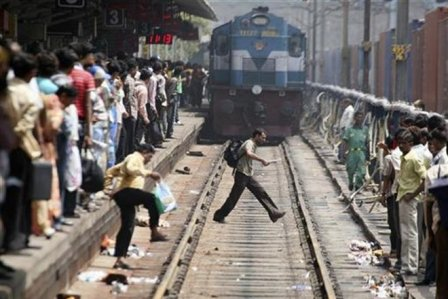 Six mowed down by train in UP