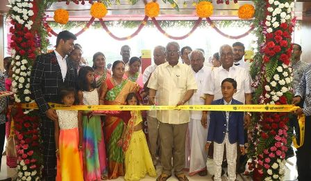 The Chennai Silks 24th Mega Showroom at Chrompet