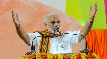 Unemployment: Narendra Modi rejects Congress Charge