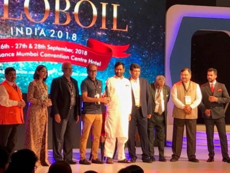 "Freedom Healthy Cooking Oils receives ""Globoil India Award for Emerging Brand 2018"""