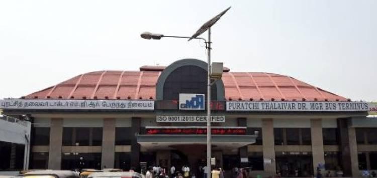 சென்னை கோயம்பேடு பேருந்து நிலையத்தின் பெயர் மாற்றம்