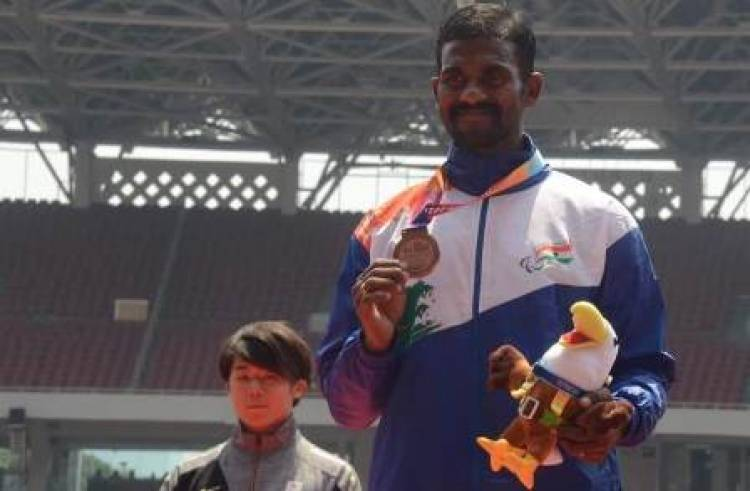 Asian para games 2018 Winner Anandan Gunasekaran