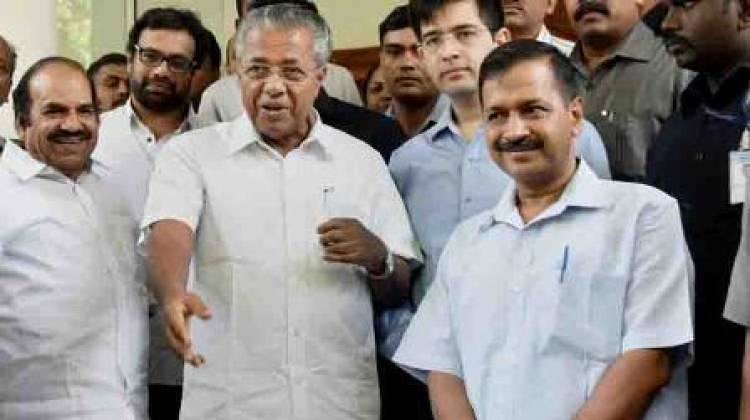 Kerala CM thanks Delhi Assembly for flood relief donation