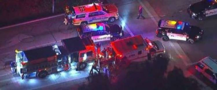 11 injured in US bar shooting