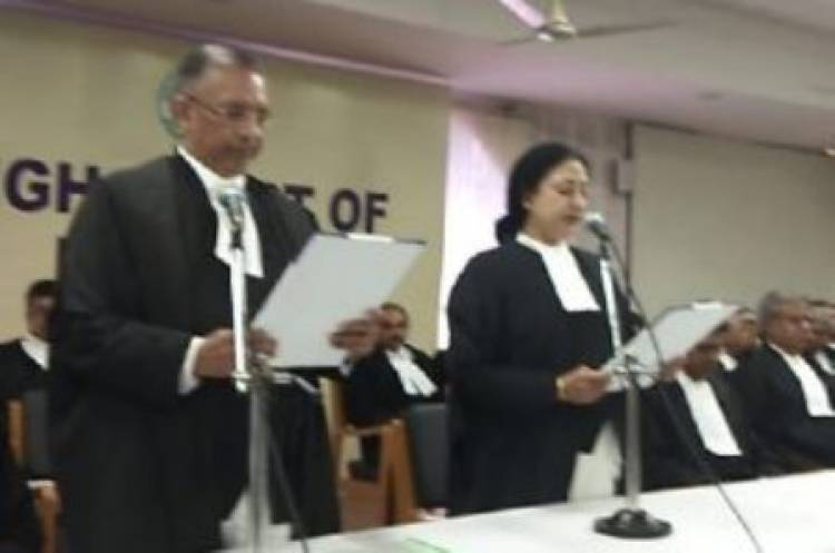 Justice Vineet Kothari takes charge at Madras HC