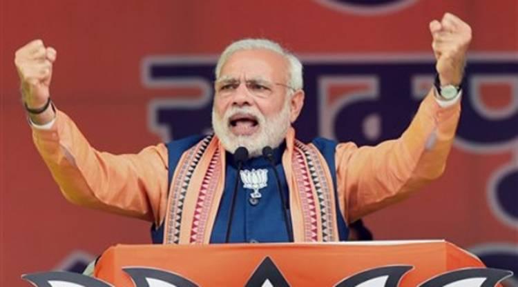Narendra Modi slams Congress for lack of development in Mizoram