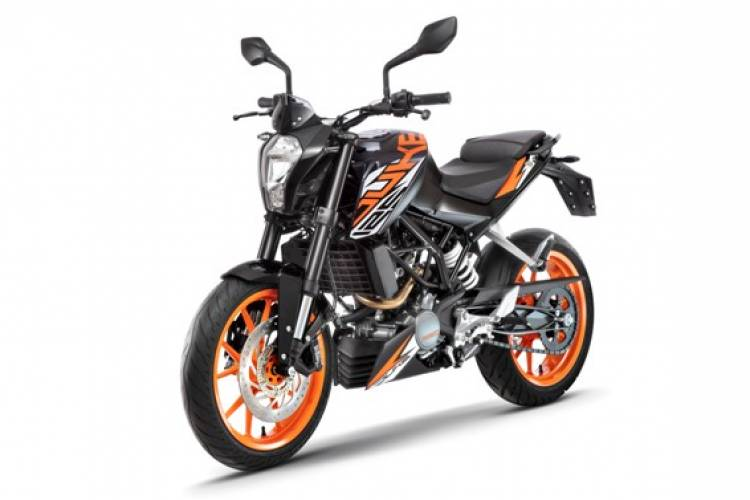 KTM Launches 125 Duke ABS