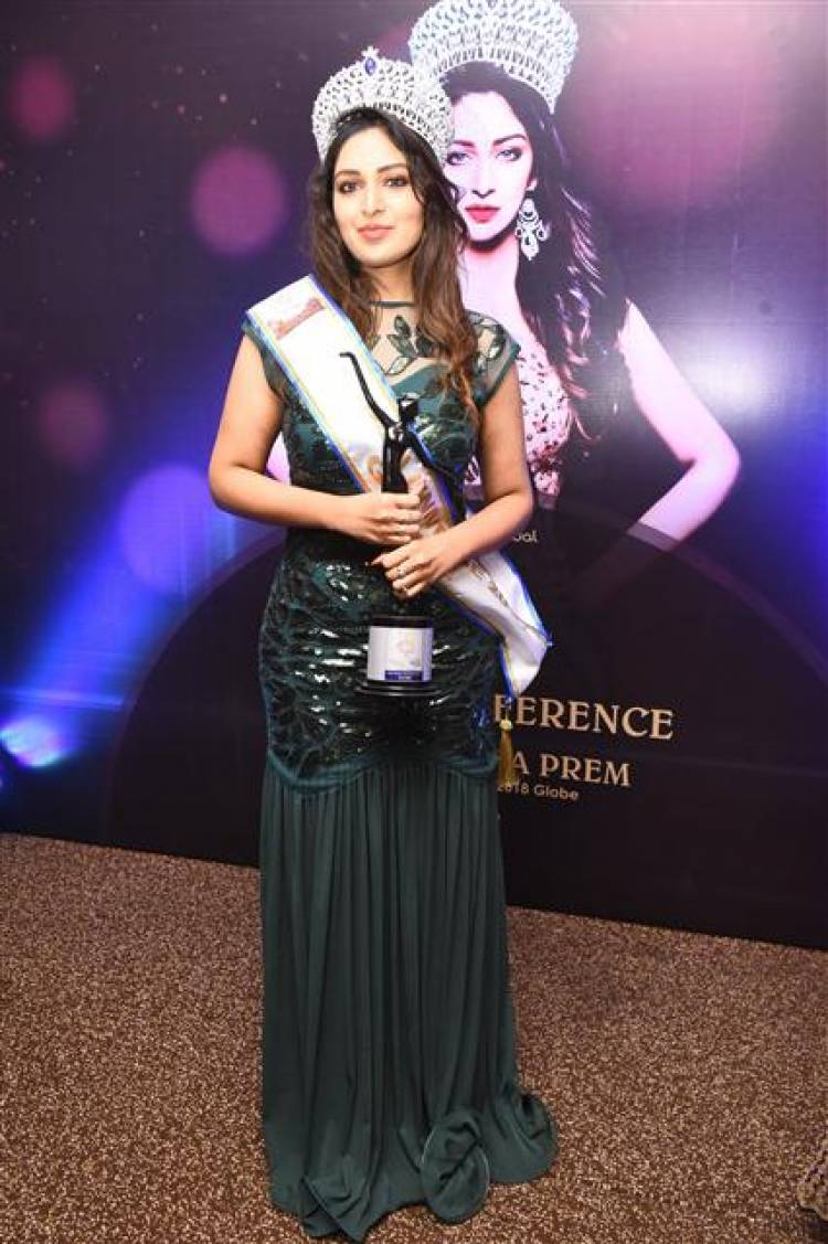 Getting Personal with Shamyuktha Prem, Winner of Mrs. India Universe Globe