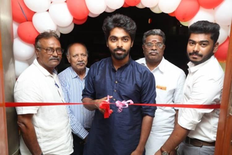 Actor G.V.Prakash Kumar inaugurate Karaikal Makkal 's favourite #Mauriya Multi cuisine restaurant
