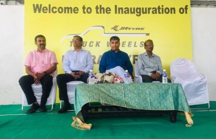 JK Tyre opens 'JK Truck Wheels Centre' in Perambalur