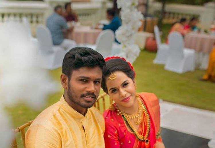 Cricketer Sanju Samson ties the knot with classmate