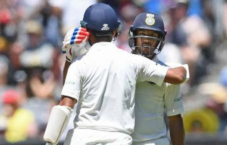 Pujara, Mayank fifties give India steady start on Day 1