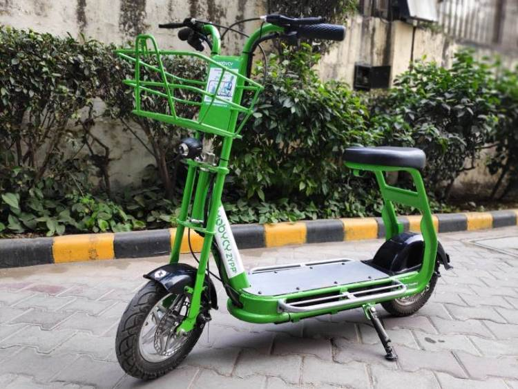 Mobycy introduces Zypp, custom App based e-scooters