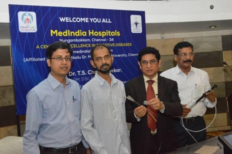 Rare Surgery on Intestinal Cancer performed at MedIndia Hospitals