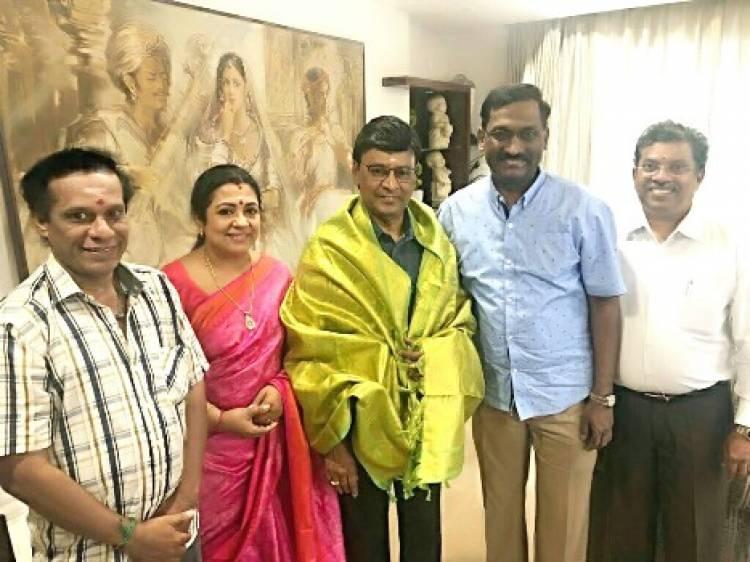 நடிகர் கே.பாக்யராஜை வாழ்த்திய முன்னால் மலேசிய அமைச்சர்