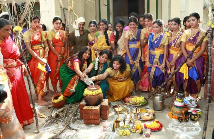 Pongal fete gets all its rustic charm at Dr. MGR-Janaki College for Women