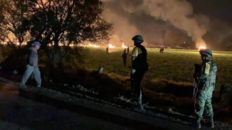20 People were killed in Mexico pipeline explosion