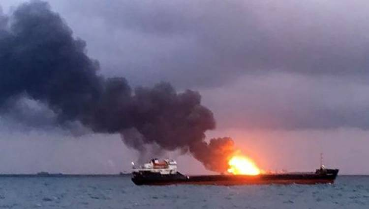 Ships carrying Indian crew catch fire off Russia, 10 killed