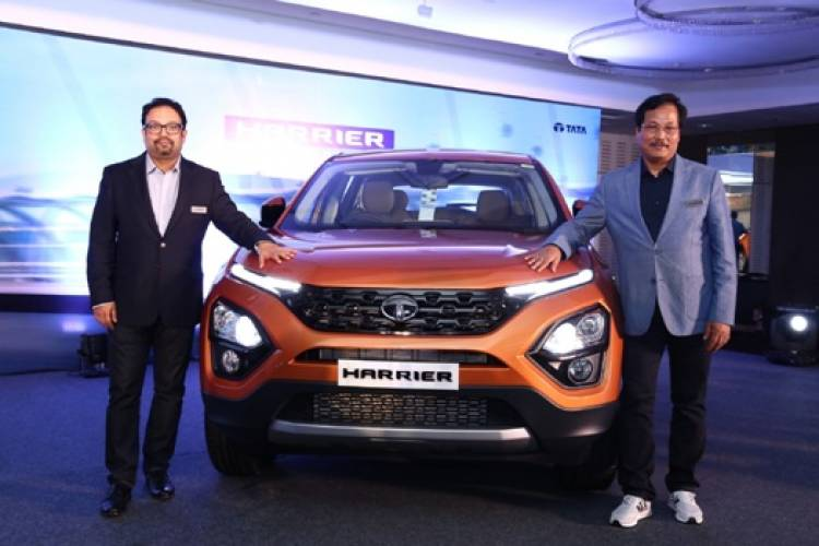 Tata Motors launches its much-awaited SUV - Harrier