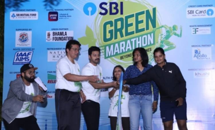 SBI Group flags off its 2nd edition 'SBI Green Marathon' to promote sustainability