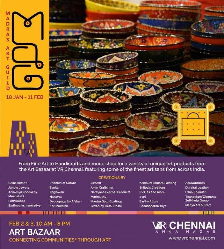Art Bazaar - VR Chennai - February 2 & 3