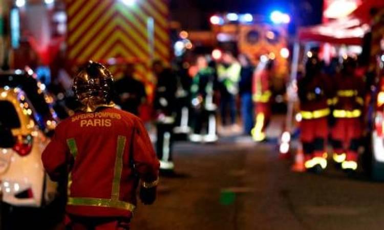 8 killed in Paris building fire, suspect arrested