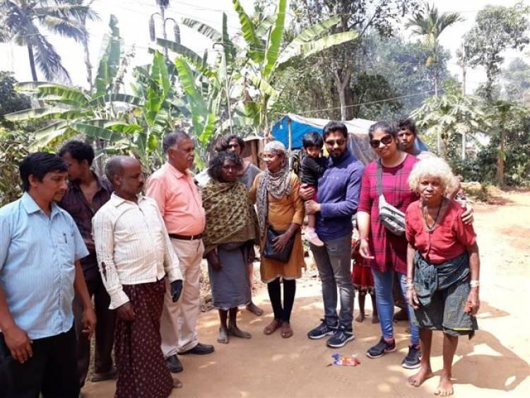 நீலகிரி மாவட்ட பழங்குடியினர்களின் வாழ்வு மேம்பாட்டிற்காக முயற்சிக்கும் நடிகர் ஆரி