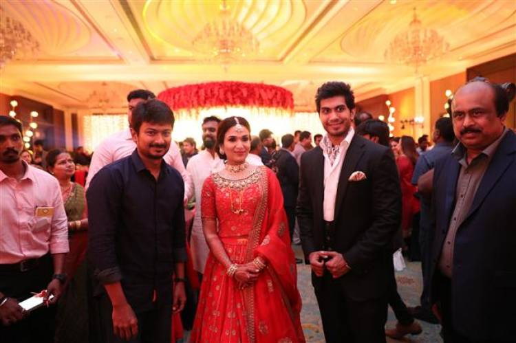 Vishagan - Soundarya wedding celebrations Stills