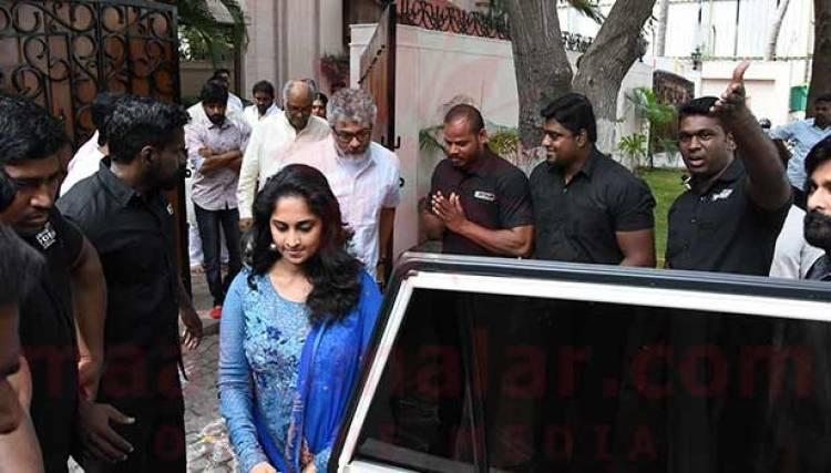 மறைந்த நடிகை ஸ்ரீதேவியின் திதியில் கலந்து கொண்ட நடிகர் அஜித்