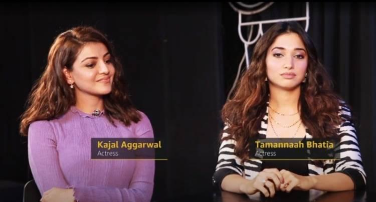 "Tamannaah Bhatia, Kajal Aggarwal shares the latest episode of ""The Insider's Watchlist"" on IMDb"