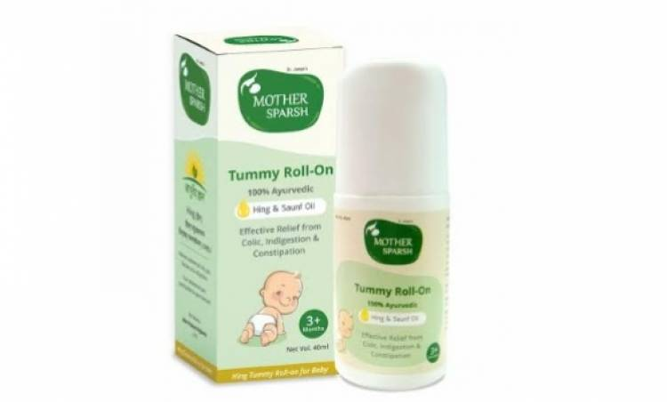 Mother Sparsh launches Ayurvedic Tummy Roll on