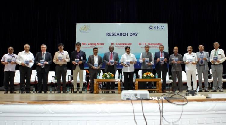 SRMIST organized Research Day 2019