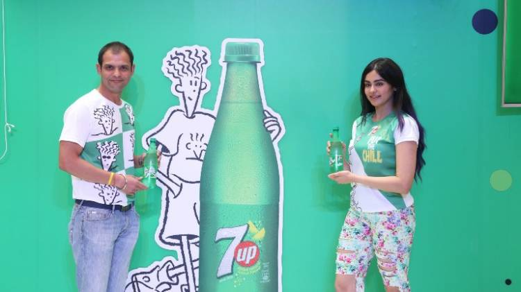7UP and Fido Dido Put the Chill in Chennai with Adah Sharma