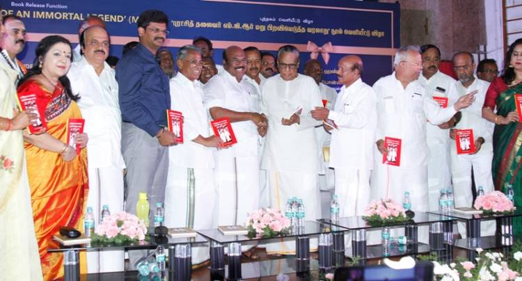 """""""Critical Years of an Immortal Legend"""" - A book on Puratchi Thalaivar MGR"""